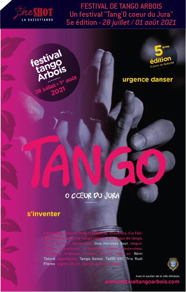 5e édition du festival de tango d'Arbois !